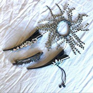 Accessories - Decorative Hair Clips & Hair Tie